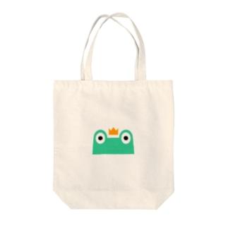 カエル隊 Tote bags