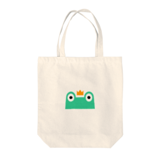 カエル大好き!カエル隊まゆみのカエル隊 Tote bags