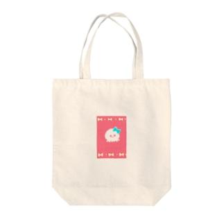 あげぽよちゃん Tote bags
