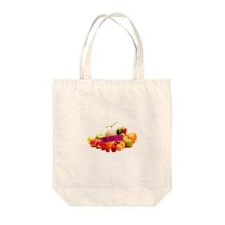 RANDOM SUPER MARKET Tote bags