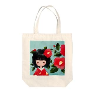 ツバキ(バッグ) Tote bags