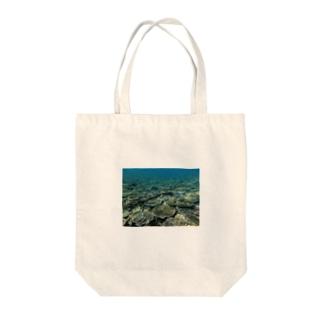 辺野古の海 Tote bags