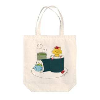 すしねこ★sushineko Tote bags