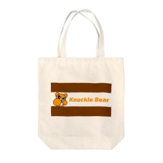 ナックルベア Tote bags