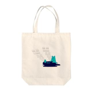 湖と森の主くまさん Tote bags