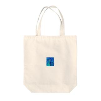 人魚の守るもの Tote bags