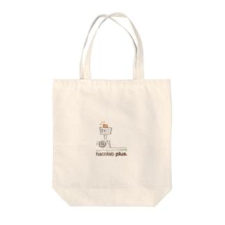 hacolab plus イチゴウくん Tote bags