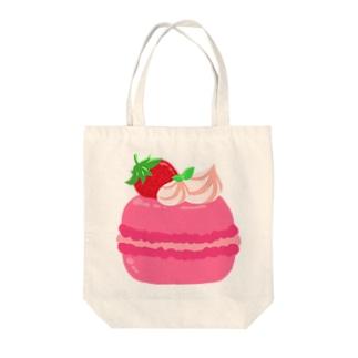 マカロン(ピンク) Tote bags