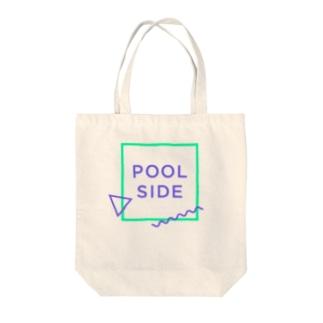 POOLSIDE Tote bags