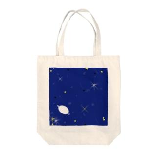 夜空の星 Tote bags