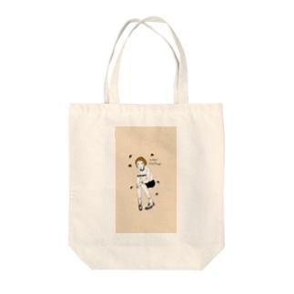 マッシュマロン Tote bags