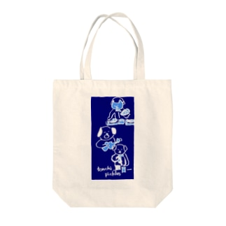 nightlife Tote bags