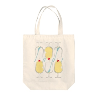 食べるミルクセーキ Tote bags