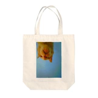 大好きなおばあちゃんにゃんこ Tote bags