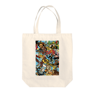 CYBERDYNEのinsigno_characters Tote bags