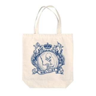 妊婦マーク(エンブレム) Tote bags