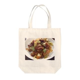 ホイコーロー Tote bags
