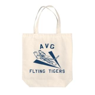フライングタイガース Tote bags