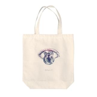 ひとみの宇宙(big) Tote bags