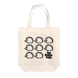 牛のTシャツ屋のThe Hedgehogs 01 Tote bags