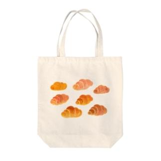 空飛ぶロールパン Tote bags