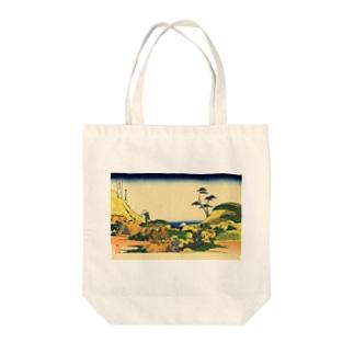 下目黒/葛飾北斎 Tote bags