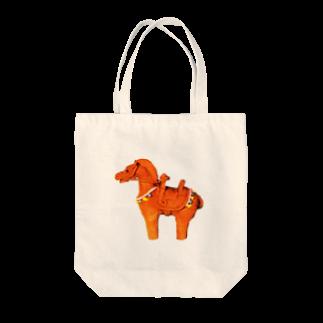Kyuhachiの駆ける Tote bags