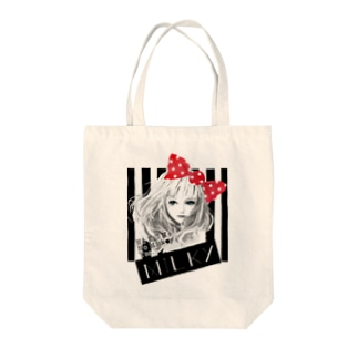 MILKYちゃん Tote bags