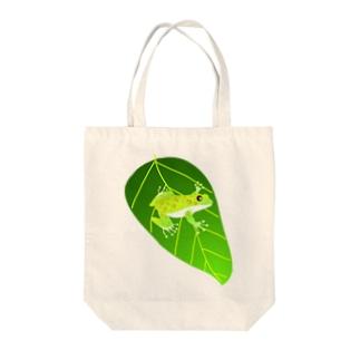 モリアオガエル Tote bags