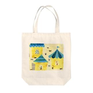 kodadayokoのsora no mura Tote bags