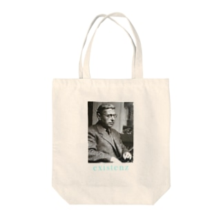サルトル Tote bags