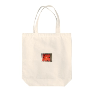 ありいえりいのねこの赤ポーチ Tote bags