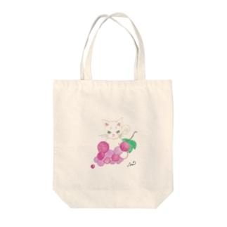 AoiのNaraNeco Tote bags