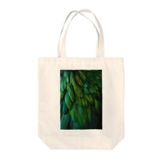 Emerald.Wing Tote bags