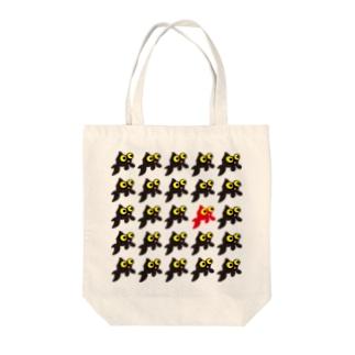 紅一点 金魚 Tote bags