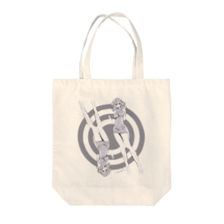 SO GROOVY NOW レトロガール Tote bags