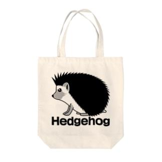 koji_kojiのHedgehog01トートバッグ Tote bags