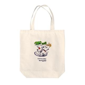 イニエスタ Tote bags