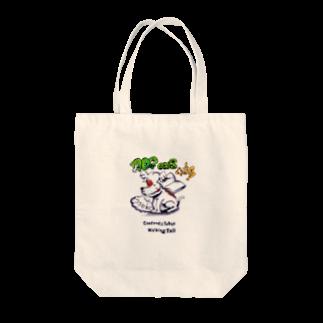 栗原進@夢の空想画家のイニエスタ Tote bags