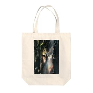真名井の滝 Tote bags