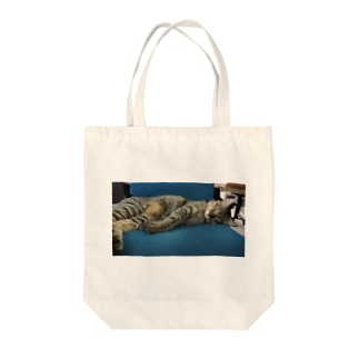 広瀬眞之介の寝ココ Tote bags