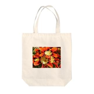 orange Tote bags