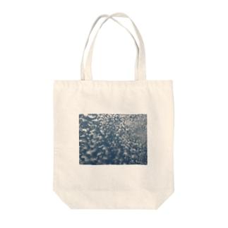 sky Tote bags