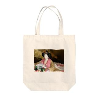雛人形 Tote bags