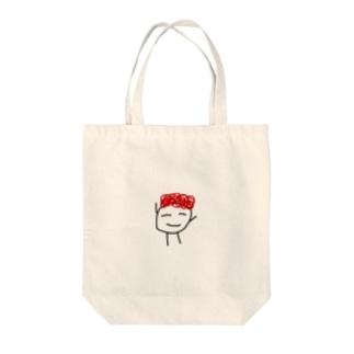 ぼくおすしマン Tote bags