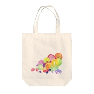 juicy*fruit Tote bags