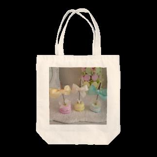 La Bonbonniereのマカロンスタンド Tote bags