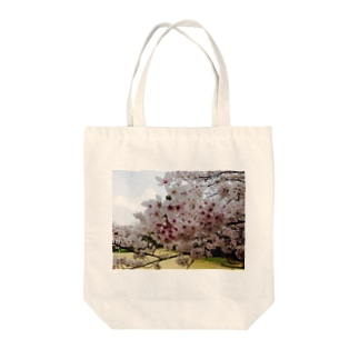 ある春の日 Tote bags