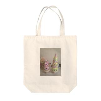 マカロンタワー Tote bags