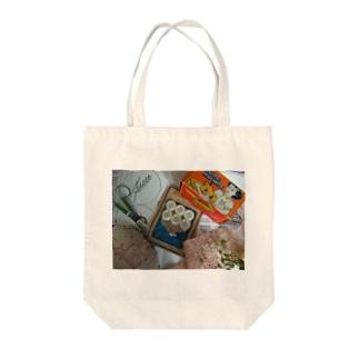 アンティークソーイング Tote bags